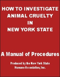 How to Investigate Animal Cruelty in New York State